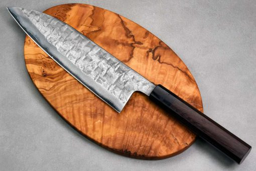 """סכין שף (גיוטו) טאנאקה קצ'וטו 210מ""""מ Aogami#2"""