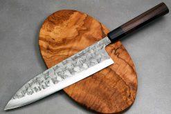 """סכין שף (גיוטו) טאנאקה קצ'וטו 240מ""""מ Aogami#2"""