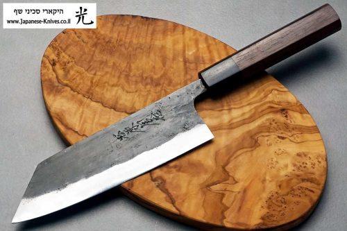 סכין שף מסוג בונקה בעבודת יד של טאנאקה קצ'וטו עשוי פלדת Shirogami#1