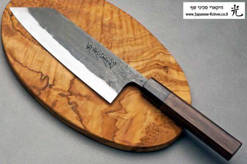 """סכין שף (בונקה) טאנאקה קצ'וטו 170מ""""מ Shirogami#1"""