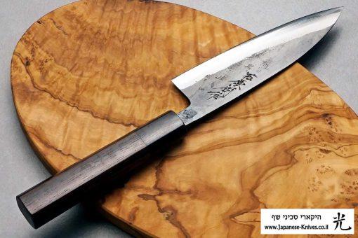 """סכין עזר (פטי) טאנאקה קצ'וטו 120מ""""מ Shirogami#1"""