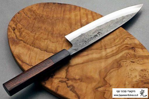 """סכין עזר (פטי) טאנאקה קצ'וטו 150מ""""מ Shirogami#1"""