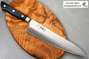 """סכין שף (גיוטו) טצ'והירו 210מ""""מ SG2"""