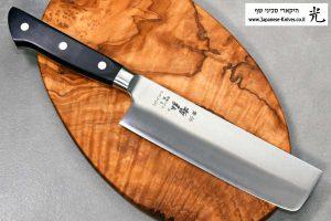 """סכין ירקות (נקירי) טצ'והירו 165מ""""מ SG2"""