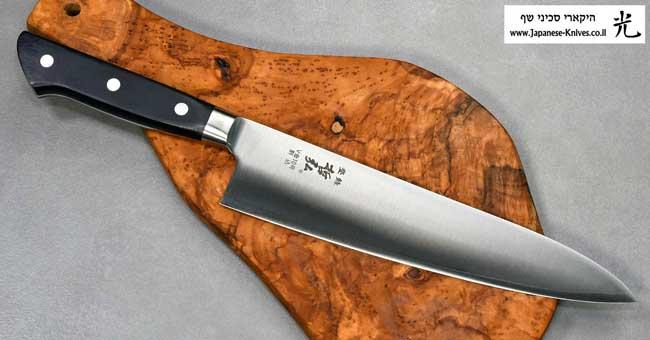 סכיני שף מבית טצ'והירו - סדרת VG10 - Cat Blk