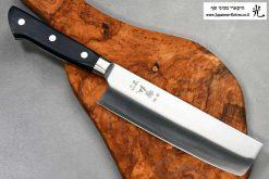 """סכין ירקות (נקירי) טצ'והירו 165מ""""מ VG10"""