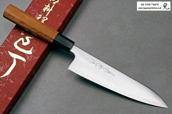 """סכין שף (גיוטו) יאמאוואקי 180מ""""מ Aogami Super"""
