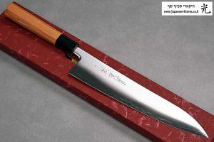 """סכין שף (גיוטו) יאמאוואקי 240מ""""מ Aogami Super"""