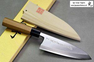 """סכין פילוט דגים (דבה) יאמאוואקי 165מ""""מ Aogami#2"""
