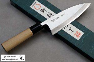 """סכין פילוט דגים (דבה) יאמאוואקי 150מ""""מ Shirogami#2"""