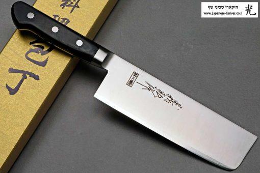 """סכין ירקות (נקירי) יאמאוואקי 165מ""""מ SRS15"""