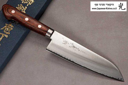 """סכין שף (סנטוקו) יאמאוואקי 165מ""""מ VG1"""