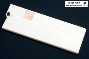 """מגן עץ (Saya) לסכין ירקות (נקירי) יאמאוואקי 165מ""""מ Aogami Super"""