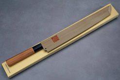 """סכין סושי (טאקוהיקי מארו) יאמאוואקי 270מ""""מ Aogami#1"""