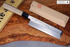 """סכין ירקות יוסובה (Edo Usuba) יאמאוואקי 180מ""""מ Aogami#2"""