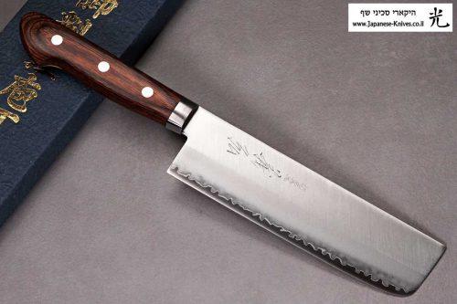 """סכין ירקות (נקירי) יאמאוואקי 165מ""""מ VG1"""