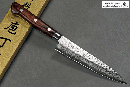 """סכין טבח (פטי) יאמאוואקי 135מ""""מ VG10 ידית מערבית"""