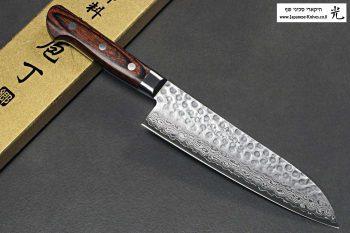 סכין שף יפני (סנטוקו) מבית יאמאוואקי עשוי פלדת VG10