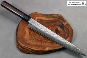 """סכין פריסה (שוג'יהיקי) יאמאוואקי 240מ""""מ VG10 ידית יפנית"""