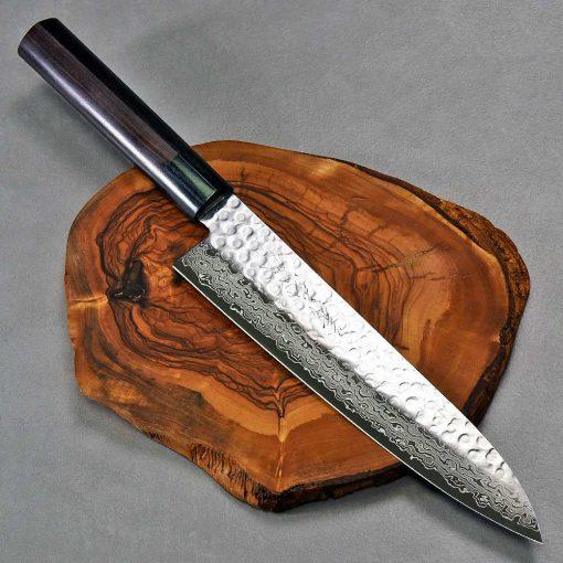 """סכין שף (גיוטו) יאמאוואקי 210מ""""מ VG10 ידית יפנית FB ad 1:1"""