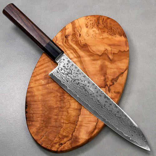 """סכין שף (גיוטו) יאמאוואקי 210מ""""מ ZA18 Ad 1:1"""