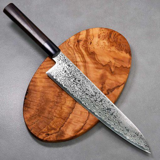 """סכין שף (גיוטו) יאמאוואקי 240מ""""מ ZA18 Ad 1:1"""