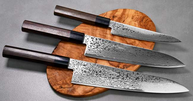 סכיני יאמאוואקי - סדרת ZA18 Cat Blk