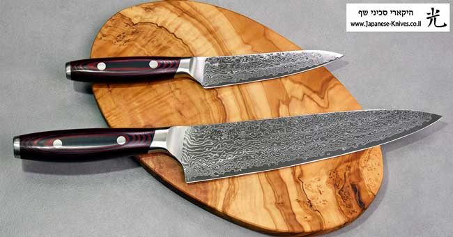 סכיני שף מבית יקסל Yaxell - פלדת SG2 L101