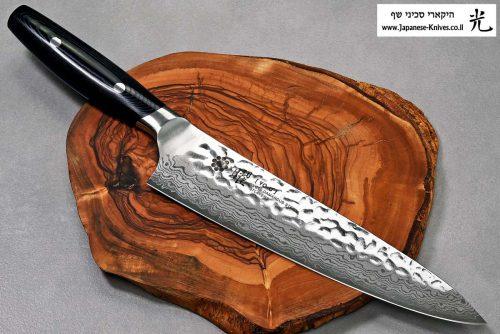 """סכין שף (גיוטו) יקסל 210מ""""מ VG10"""