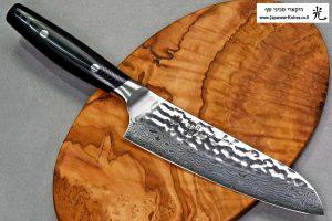 """סכין שף (סנטוקו) יקסל 165מ""""מ VG10"""