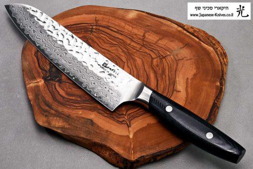 """סכין שף (סנטוקו) יקסל 180מ""""מ VG10"""