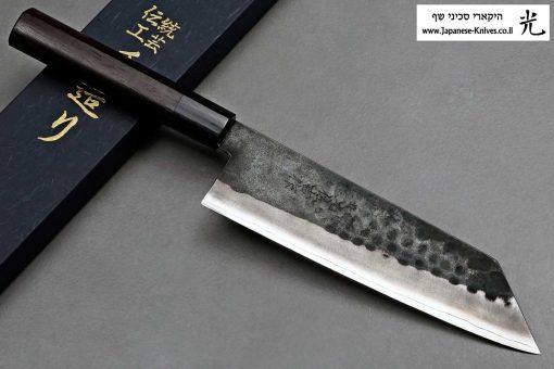 """סכין שף (בונקה) יושידה 190מ""""מ ZDP-189 שחור"""