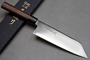 """סכין שף (בונקה) יושידה 190מ""""מ ZDP-189 חלק"""
