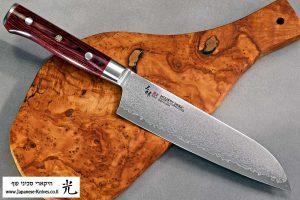 """סכין שף (סנטוקו) זאנמאי 180מ""""מ VG10"""